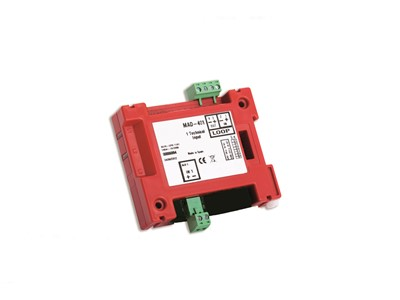 DETNOV Addressable monitor module με 1 supervised input