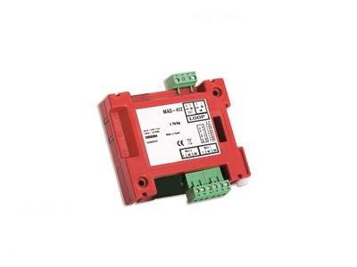 DETNOV Addressable control module for 2 relay output