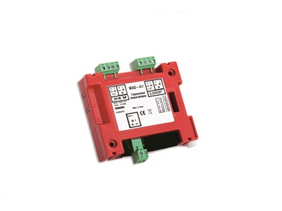 DETNOV Addressable control module of 1 monitored 24V output